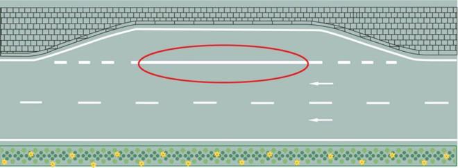 含义标线内拖车圆圈是?v含义图纸红色图片